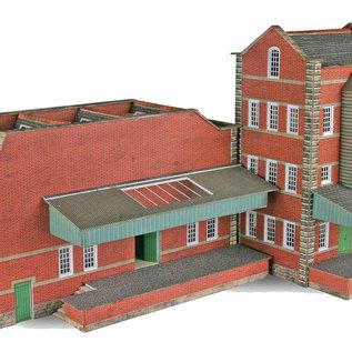 Metcalfe Metcalfe PN183 Kleine fabriek met loods (Schaal N)