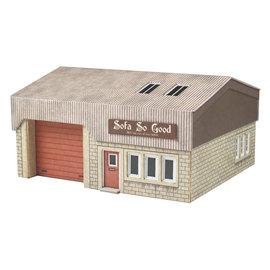 Metcalfe Metcalfe PN185 Industriegebouw (Schaal N)