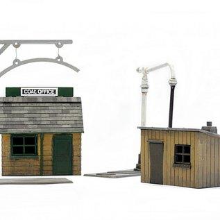 Dapol C011 Trackside huts (Gauge H0/00)
