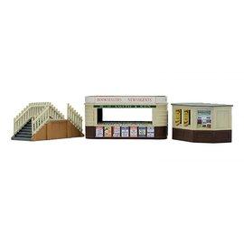 Dapol Dapol C018 Imbiß und Kiosk mit Treppe (Spur H0/00)