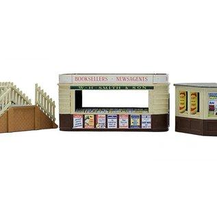 Dapol C018 Imbiß und Kiosk mit Treppe (Spur H0/00)