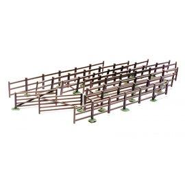 Dapol C023  8 Hekken en 2 poorten (Schaal H0/00, Plastic)