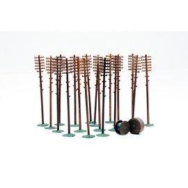 Dapol C024 Telegraph poles (Gauge H0/00)