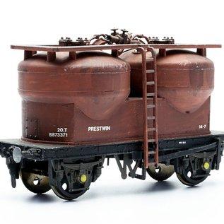 Dapol C043 Twin-silo-wagon (Schaal H0/00)