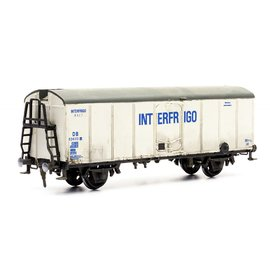 Dapol C042 Interfrigo refrigerator wagon (Gauge H0/00)