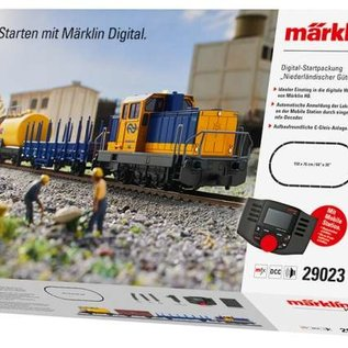 """Märklin Märklin 29023 NS Digital-Startpackung """"Güterzug"""" AC Epoche VI (Spur HO)"""