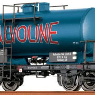 """Brawa Brawa 37251 DB Kesselwagen 2-achsig """"Valvoline"""" Tijdperk III (Schaal 0)"""