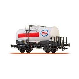 """Brawa Brawa 37254 DB Kesselwagen 2-achsig """"Esso"""" Tijdperk IV (Schaal 0)"""