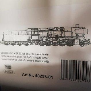 Lenz Elektronik Lenz 40253-01 DB BR 50 Tijdperk III (Schaal 0)