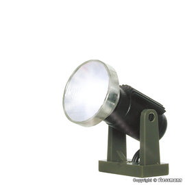 Viessmann  Viessmann 6530 Floodlight spot low, LED white (Gauge N)