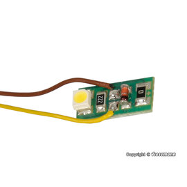 Viessmann  Viessmann 6006 binnenverlichting met 1 LED warmwit, 10 stuks
