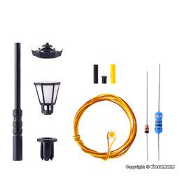 Viessmann  Viessmann 6720 Bausatz Parklaterne, LED warmweiß (Spur H0)