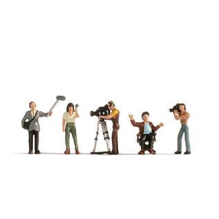 NOCH Noch 15573  Kamerateam (Spur H0), 5 Figuren