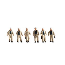 NOCH Noch 15042 Bergarbeiter (Spur H0), 6 Figuren