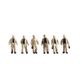 NOCH Noch 15042 Mijnwerkers (Schaal H0), 6 figuren