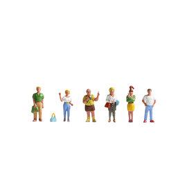NOCH Noch 15480 Pedestrians (Gauge H0), 6 figures