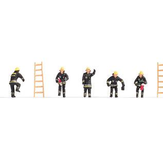 NOCH Noch 15021 Feuerwehr (Spur H0), 5 Figuren