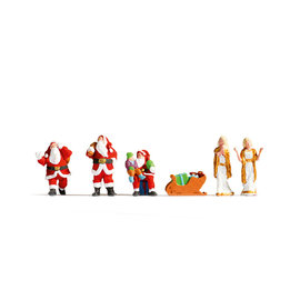NOCH Noch 15920 Kerstfiguren (Schaal H0), 6 figuren