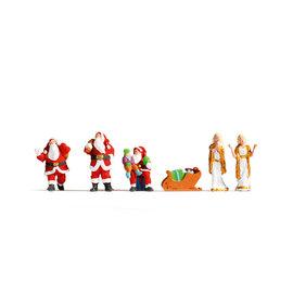 NOCH Noch 15920 Santa Claus and Angels (Gauge H0), 6 figures