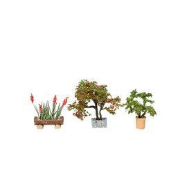 NOCH Noch 14020 Ornamental Plants 3x (Gauge H0)