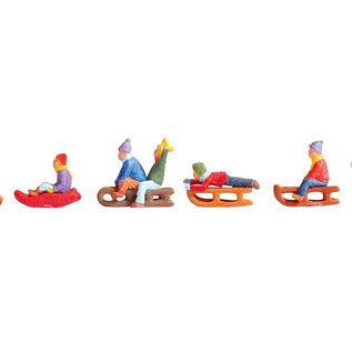 NOCH Noch 15819 Kinder im Schnee (Spur H0), 6 Figuren
