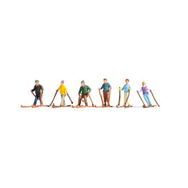 NOCH Noch 15828 Skifahrer (Spur H0), 6 Figuren