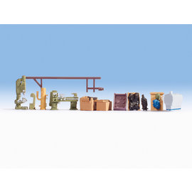 NOCH Noch 14850 Workshop accessories (Gauge H0), 11 pieces