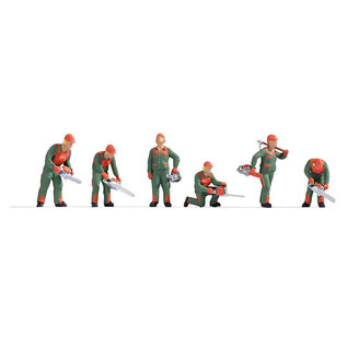 NOCH Noch 15061 Bosarbeiders (Schaal H0), 6 figuren