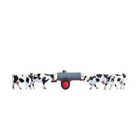 NOCH Noch 16658 Cows at water trough (Gauge H0), 7 figures