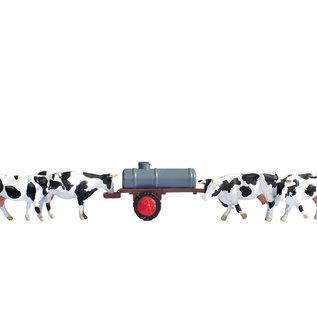 NOCH Noch 16658 Koeien bij drinkbak (Schaal H0), 7 figuren