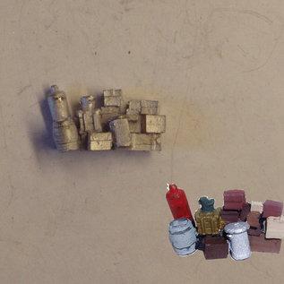 P & D Marsh Models P & D Marsh PW278 Vrachtgoed & bagage (Schaal H0/00)