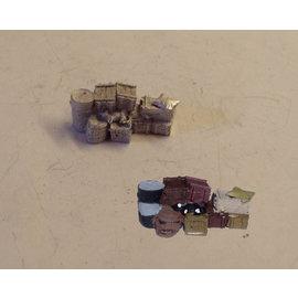 P & D Marsh Models P & D Marsh PW277 Vrachtgoed & bagage (Schaal H0/00)