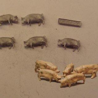 P & D Marsh Models P & D Marsh PW100 Schweine (Spur H0/OO)