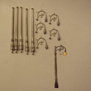 P & D Marsh Models P & D Marsh PW127 Zwanenhals lampen (Schaal H0/00)