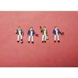 P & D Marsh Models P & D Marsh Z05 Schilders (Schaal H0/00), 4 figuren