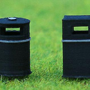 Ancorton Models OO3-LB1 Abfallbehälter, 3D gedruckt (Spur H0/OO)