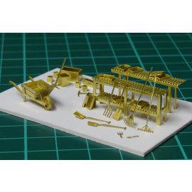 Severn Models Severn Models D5 Tuingereedschap (Schaal H0/00)