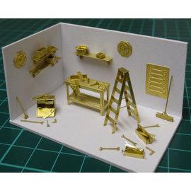 Severn Models Severn Models D6 Werkplaatsuitrusting (Schaal H0/00)