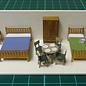 Severn Models Severn Models D13 Meubels set A (Schaal H0/00)