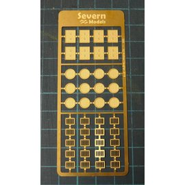 Severn Models Severn Models D20 Roosters en Putdeksels (Schaal H0/00)