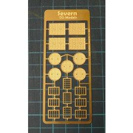 Severn Models Severn Models O19 Roosters en Putdeksels (Schaal O)