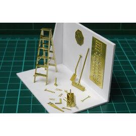 Severn Models Severn Models O6 Werkplaatsuitrusting (Schaal O)
