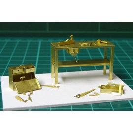 Severn Models Severn Models O4 Tischlerwerkzeuge (Spur O)
