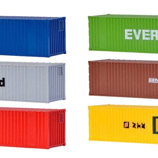 Kibri Kibri 10922 40-Fuß-Container (Spur H0) 6 Stück