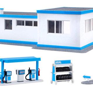 Kibri Kibri 38541 ARAL Tankstelle (Spur H0)