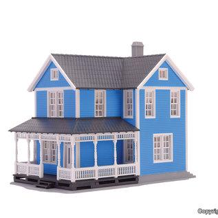 Kibri Kibri 38841 Zweeds huis, blauw (Schaal H0)