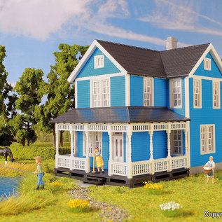 Kibri Kibri 38841 Schwedenhaus, blau (Spur H0)