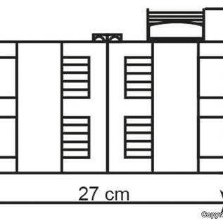 Kibri Kibri 39848 Mijn administratief gebouw met werkplaats (Schaal H0)