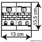 Kibri Kibri 38383 Huis Ballhausplatz (Schaal H0)