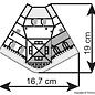 Kibri Kibri 38390 Modehuis (Schaal H0)